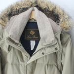 Luxury LORO PIANA Men's Cashmere Jacket & Fox Fur Quilted Beige Jacket Size L