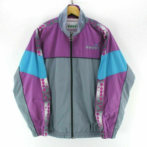 Diadora Men's Shell Jacket in Purple Size L