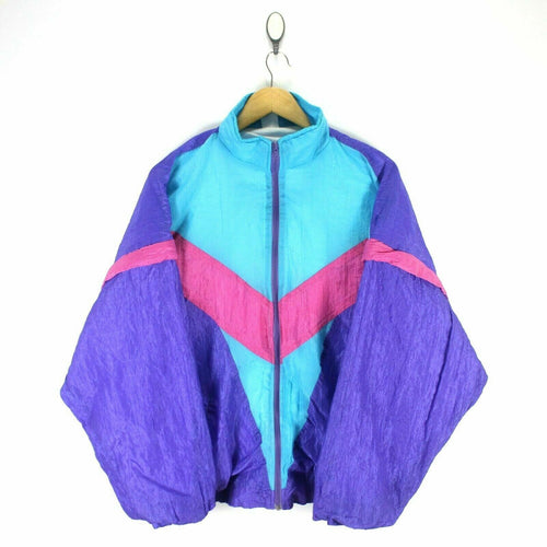 Vintage 80's Retro Men's Track Jacket Size XL