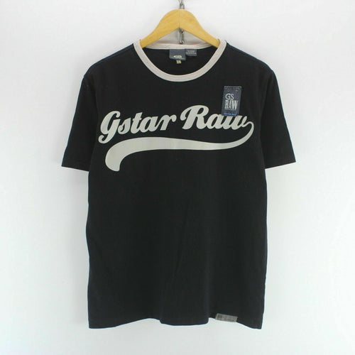 G-Star Men's T-Shirt Black Size L
