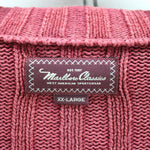 Marlboro Classics Men's Sweater Size 2XL 100% Cotton Full-Zip Cardigan, Jumper Sweater, Marlboro Classics, - Top-Garms