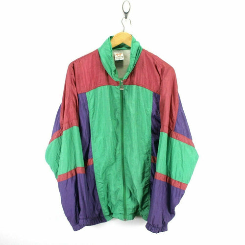 Vintage 80's Men's Retro Track Jacket Size 52