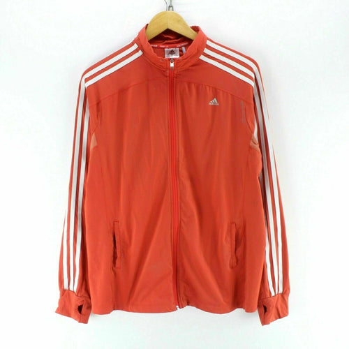 Adidas Men's Track Jacket Red Size XL