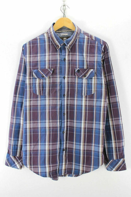 Timberland Men's Checkered Shirt Size M