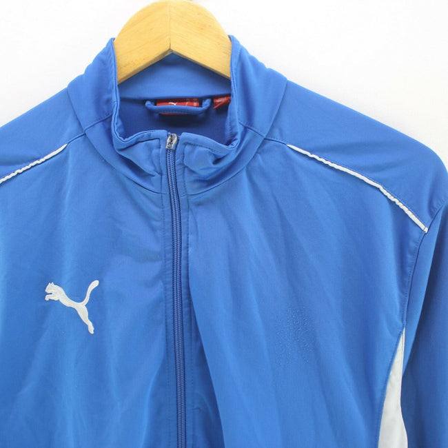 PUMA Men's Track Jacket Blue Size M