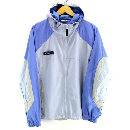 Columbia Women's Raincoat Jacket Blue Size XL