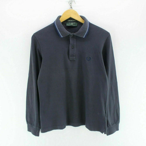 Fred Perry Men's Polo Shirt Blue Size S