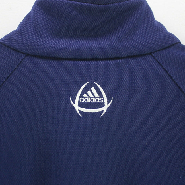 Vintage adidas Boy's/Men's Track Jacket Blue Size XS Long Sleeve Zipped, Tracksuit, adidas, - Top-Garms