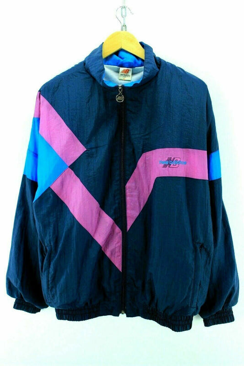 Vintage New Balance Men's Tracksuit Jacket Size M Shell Full Zip Tracktop EF2380