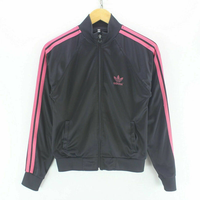 adidas Women's Track Jacket in Black Size M