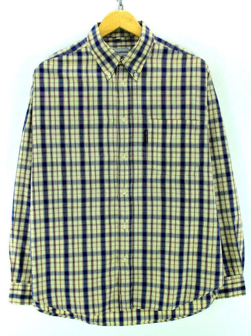 Sergio Tacchini Men's Checkered Shirt Size L Multicolor Longsleeve Shirt