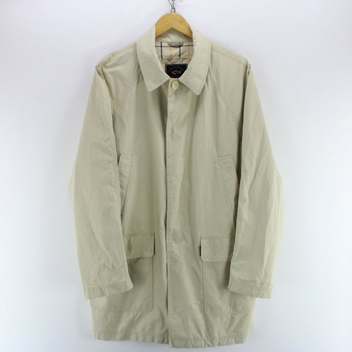 Paul & Shark Trench Coat Size L