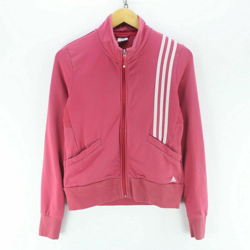 adidas Women's Track Jacket Pink Size 12 S