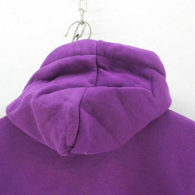 Hollister Men's Purple Hoodie Size S