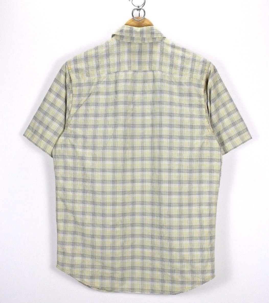 04a80a50fee Columbia Titanium Mens Shirt, Size S Small, Casual Check TOP, Short Sleeve -