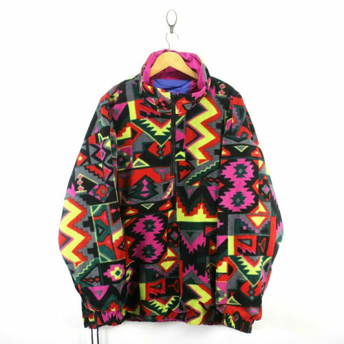 * VINTAGE FILA Men's 3-in-1 Jacket Size 54/XL Reversible Crazy Pattern