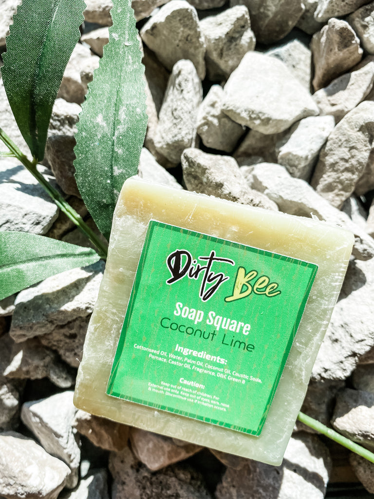 Coconut Lime Natural Bar Soap
