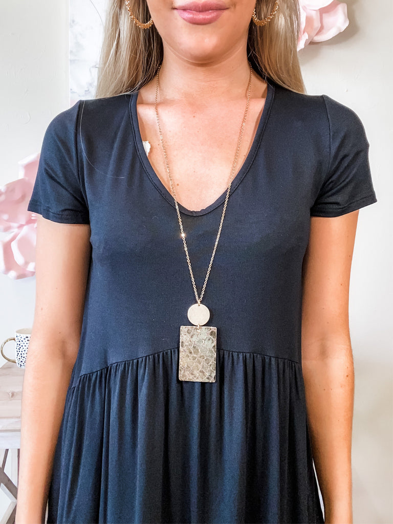 All Squared Up Necklace (2 Colors)