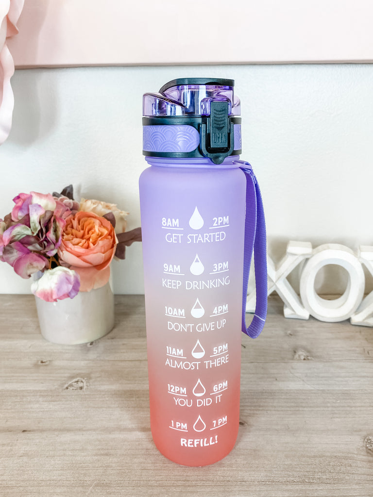 Drink Up Water Bottles (2 Colors)