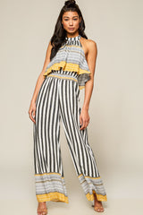 In The Mood Tribal Print Jumpsuit - Geegeebae