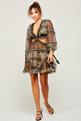 Smoke and Mirrors Chiffon Dress
