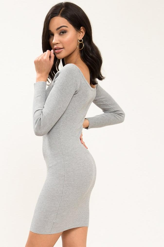 Mimi Off Shoulder Mini Dress - Geegeebae