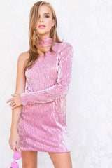 Soda Pop Sequin Mini Dress - Geegeebae