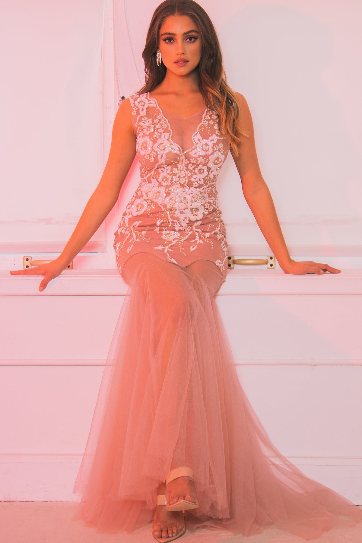 Blush Me Away Gown
