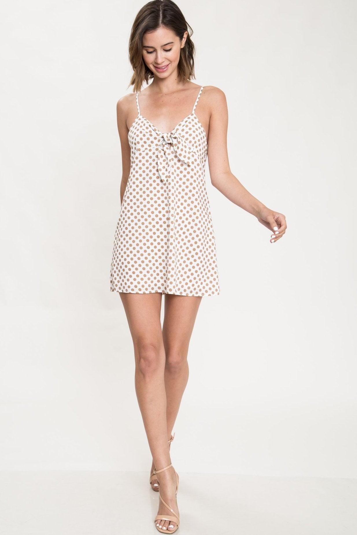 First Love Polka Dot Mini Dress - Geegeebae