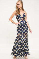 Utopia Ribbon Maxi Dress
