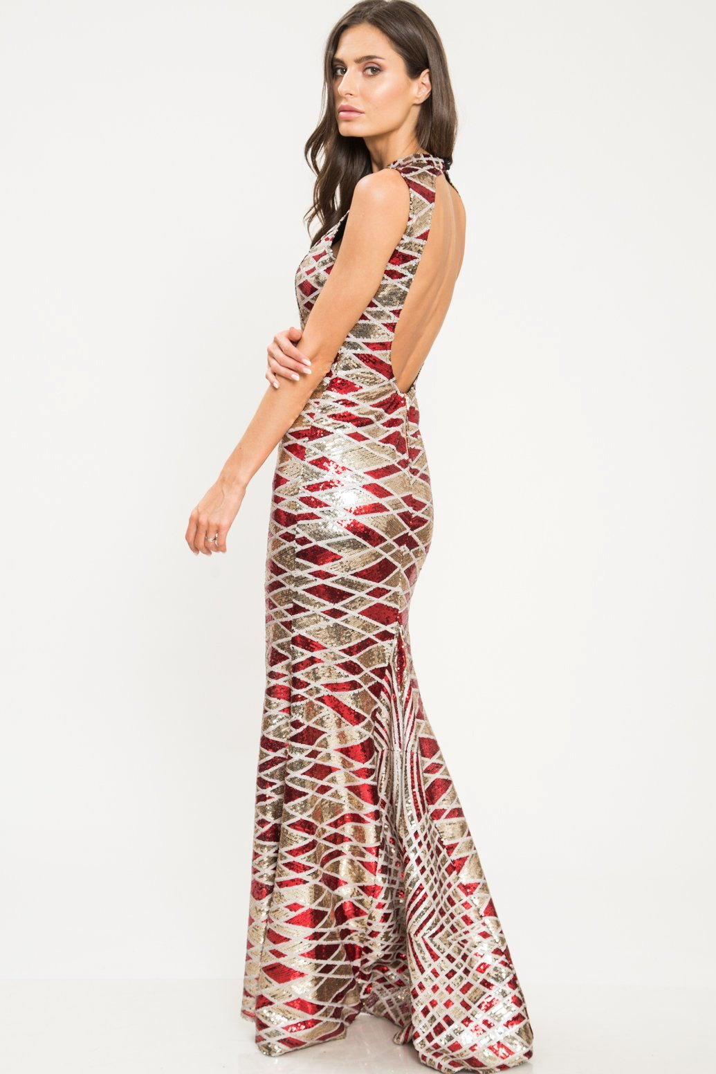 Gemma Sequin Mermaid Dress - Geegeebae