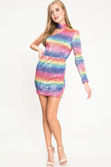 Unicorn Sequin Mini Dress - Geegeebae