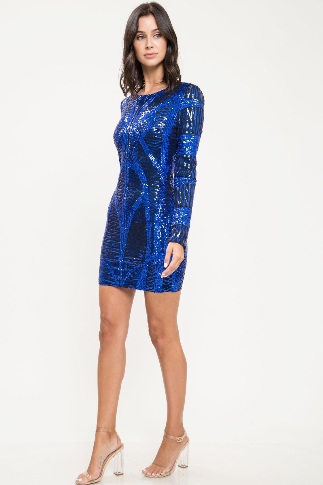 Euphoria Sequin Mini Dress - Geegeebae