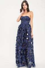 Gemini Sequin Maxi Dress - Geegeebae