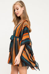 Amber Wide Sleeve Mini Dress - Geegeebae