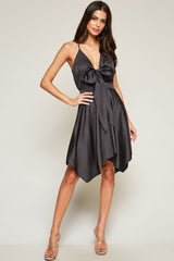 All Day All Night Tie-Front Dress - Geegeebae