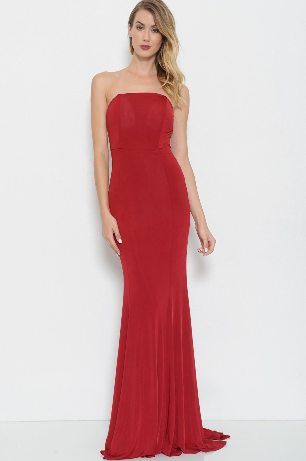 Perfect Strapless Gown - Geegeebae