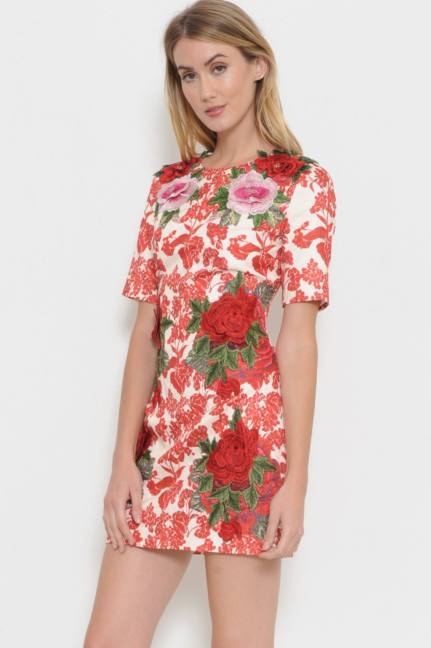 Red Garden Dress - Geegeebae