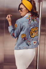 Par Amour Denim Jacket - Geegeebae