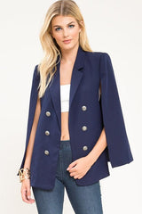 Straight Up Cape Blazer