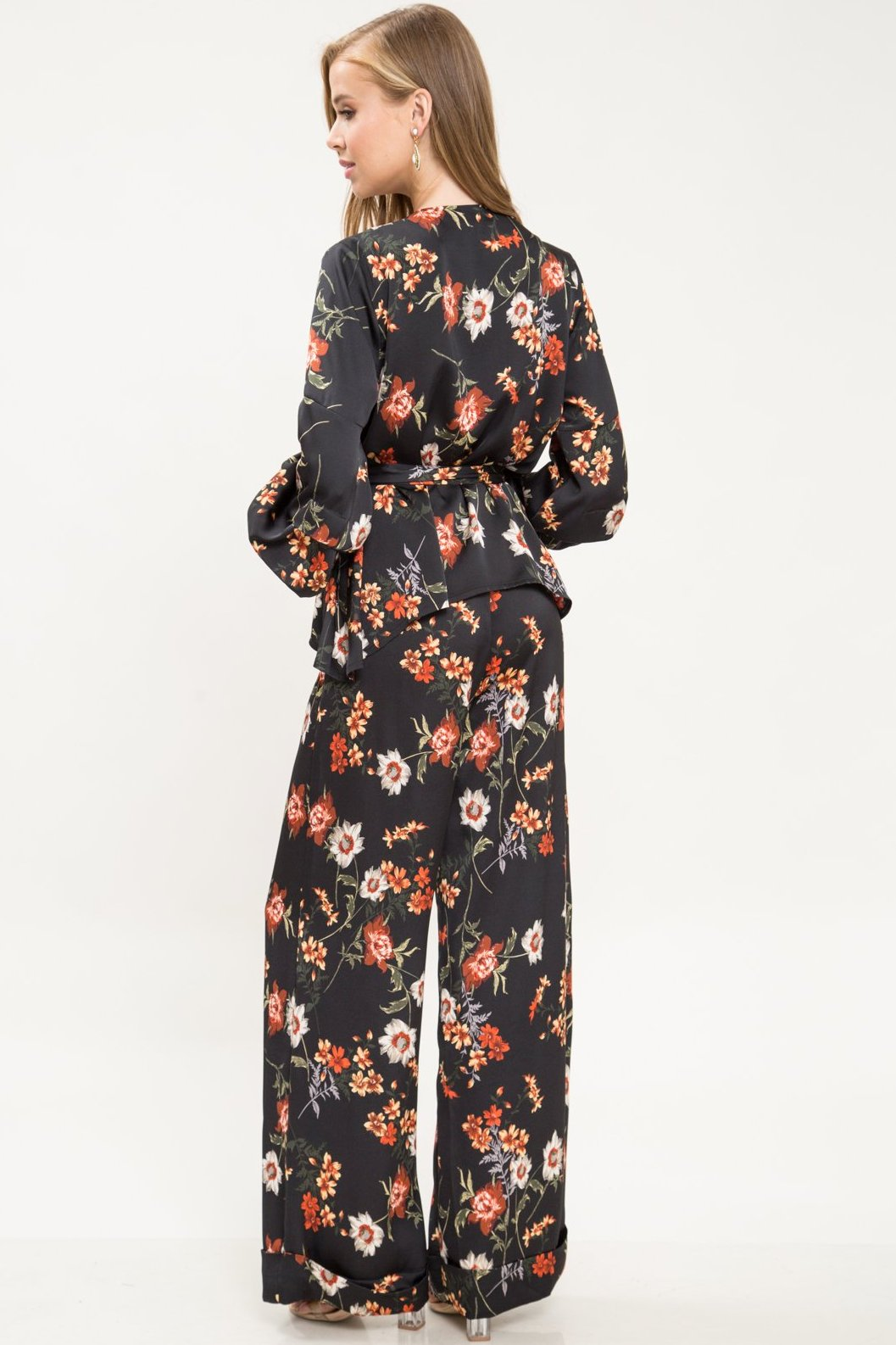 Melody Floral Pants Set - Geegeebae