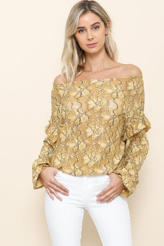Gold Rush Top - Geegeebae
