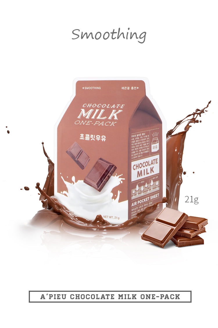 [A'PIEU]Chocolate Milk One Pack Sheet Mask - Geegeebae