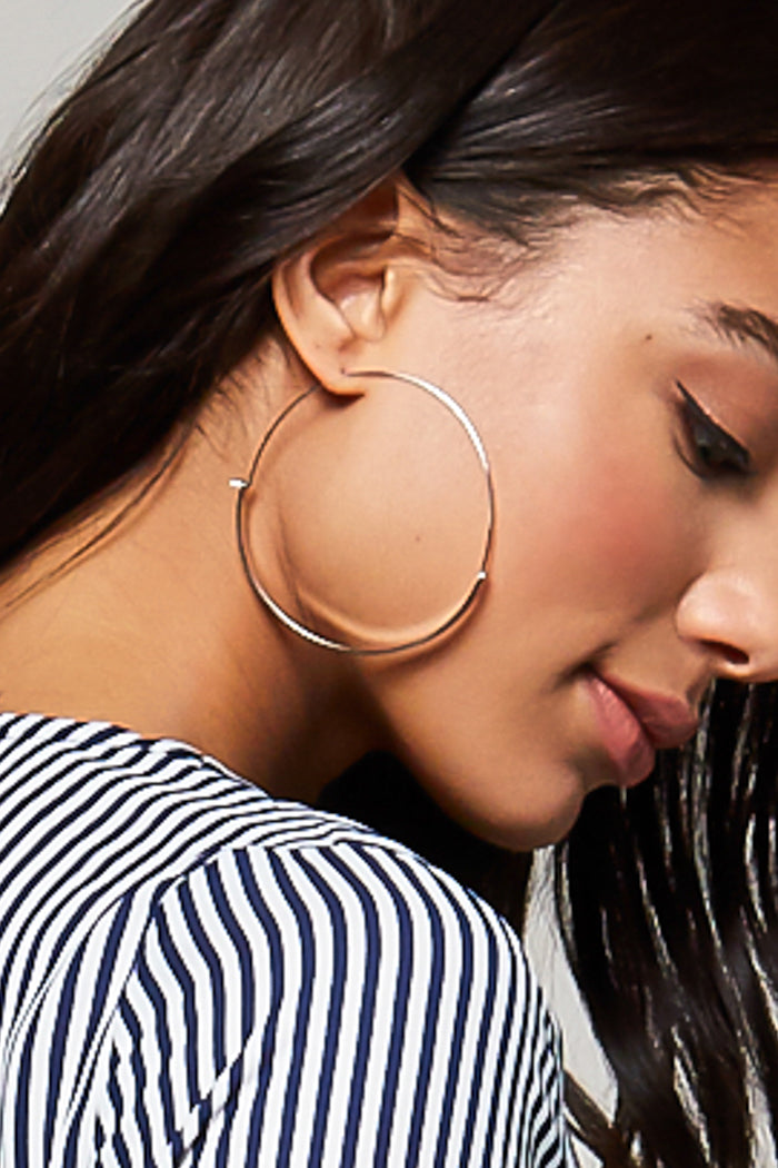 Goldilocks Hoop Earrings - Geegeebae