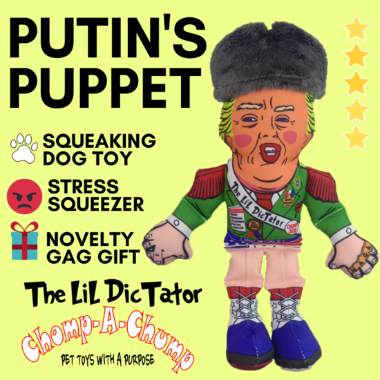 The lil dictator toy