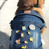 Corgi butt pin