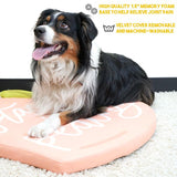 Stay Peachy Thermal Dog Mat