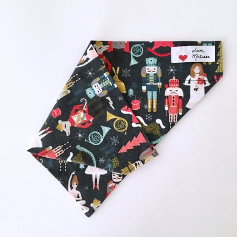 Nutty nutcracker christmas bandana