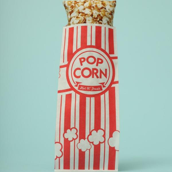 Popcorn kicker catnip toy