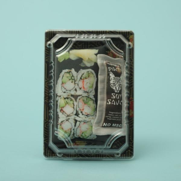 California roll sushi catnip toy
